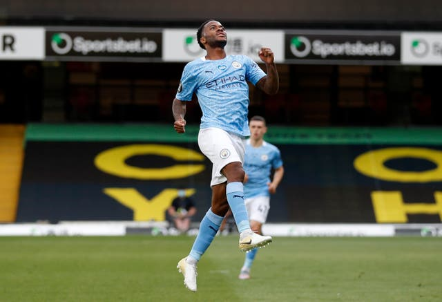 Raheem Sterling was impressive for Manchester City this season