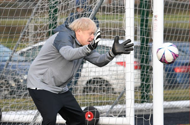 Boris Johnson has backed a home nations bid for the World Cup in 2030