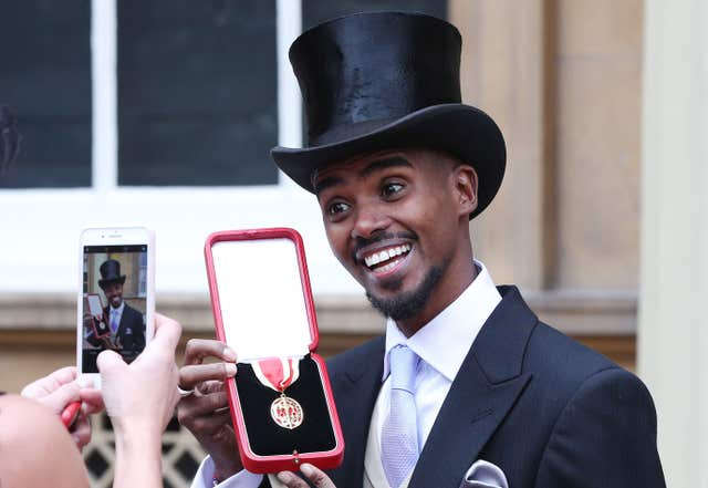 Richards believes Hamilton should receive the same recognition as Sir Mo Farah (pictured) and Andy Murray