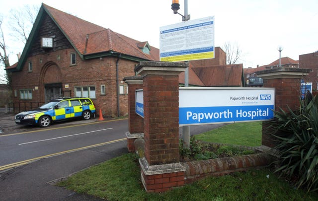 Papworth Hospital royal title
