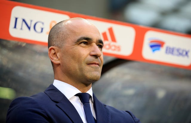 Former Wigan and Everton manager Roberto Martinez is at the Belgium helm
