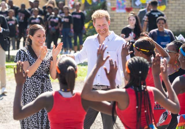 Royal visit to Africa