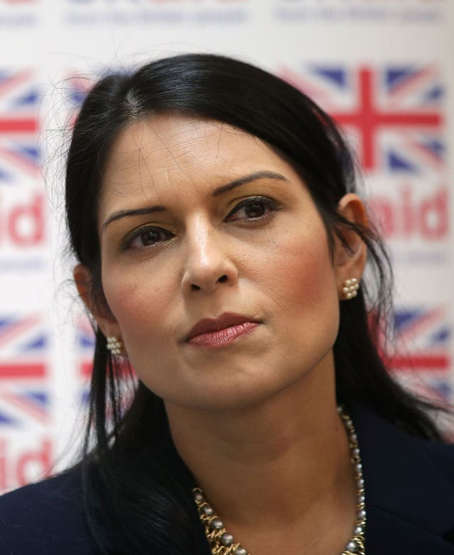 Priti Patel comments