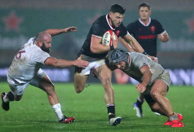 Wales v Georgia – Autumn Nations Cup – Parc y Scarlets