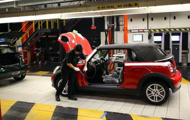 BMW Mini production line