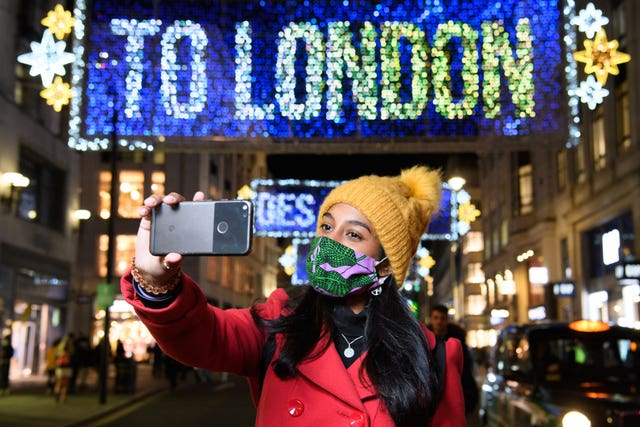 Oxford Street Christmas Lights – London