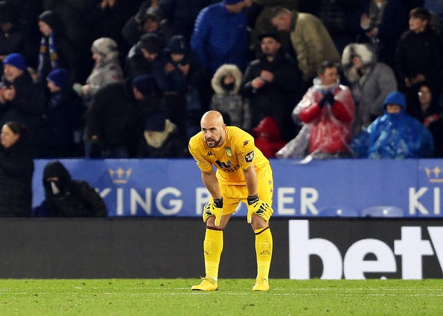 Pepe Reina's error gifted Leicester their opening goal
