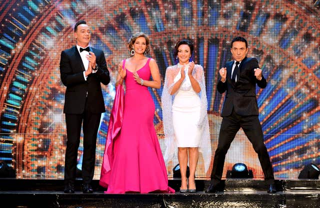Craig Revel-Horwood, Darcey Bussell, Shirley Ballas and Bruno Tonioli  on Strictly