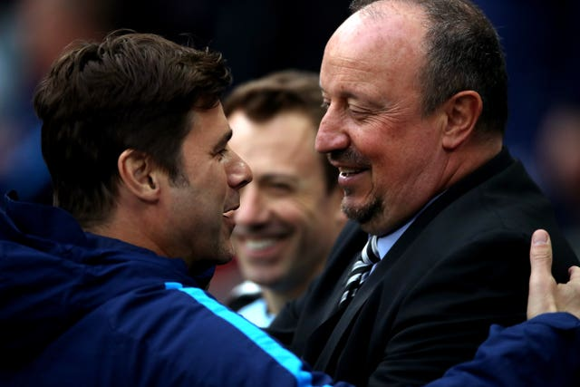 Mauricio Pochettino and Rafael Benitez