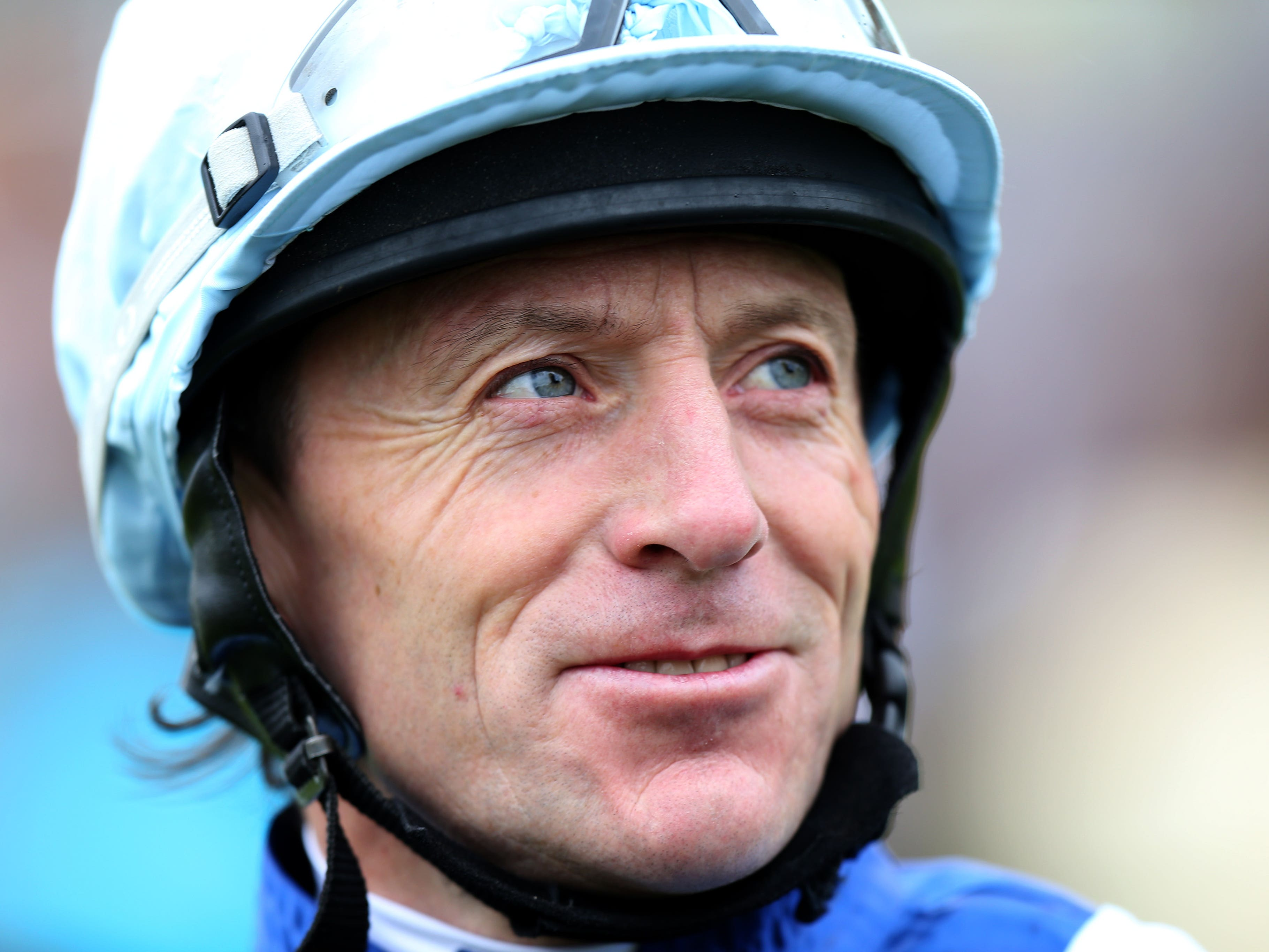 Kieren Fallon rides in the Leger Legends race at Doncaster (John Walton/PA)