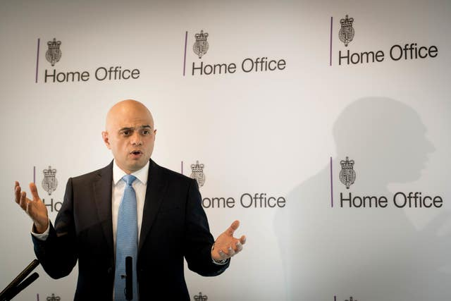 Sajid Javid speech on counter terrorism