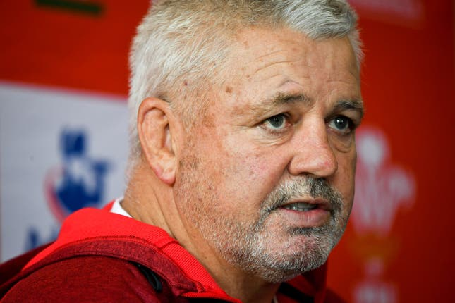 Warren Gatland described Wales' ranking as