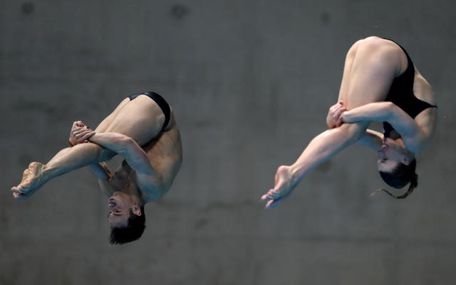 Diving World Series – Day Three – London Aquatics Centre