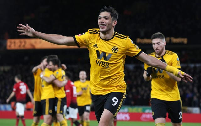 Raul Jimenez opened the scoring for Wolves