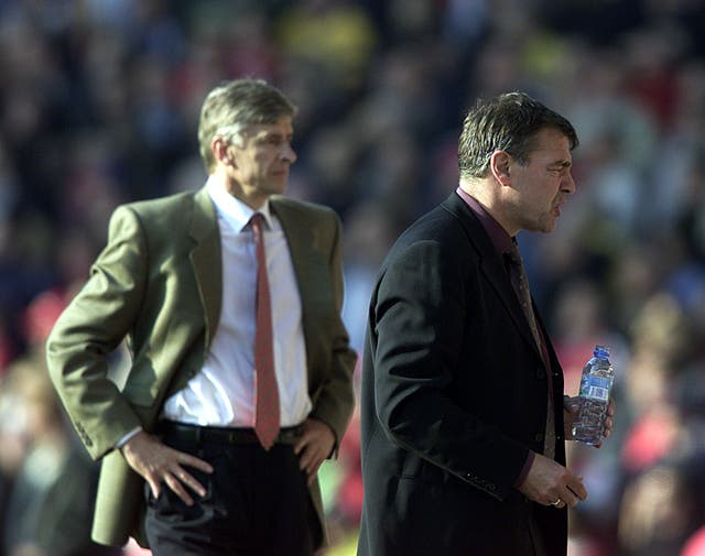 Sam Allardyce enjoyed some early success in his matches against Wenger when in charge of Bolton.