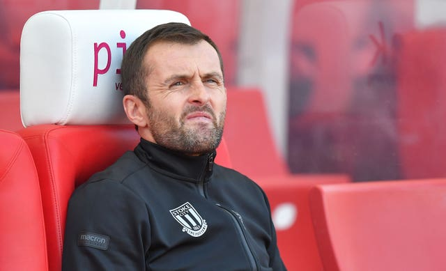 The pressure on Stoke manager Nathan Jones intensified with a 3-0 defeat at home to Leeds