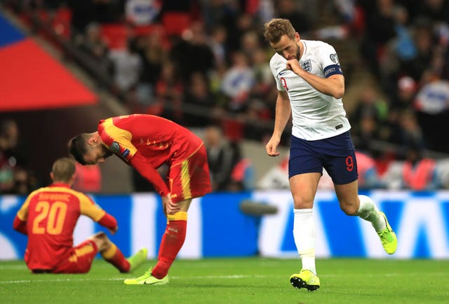 Harry Kane grabbed another Wembley hat-trick