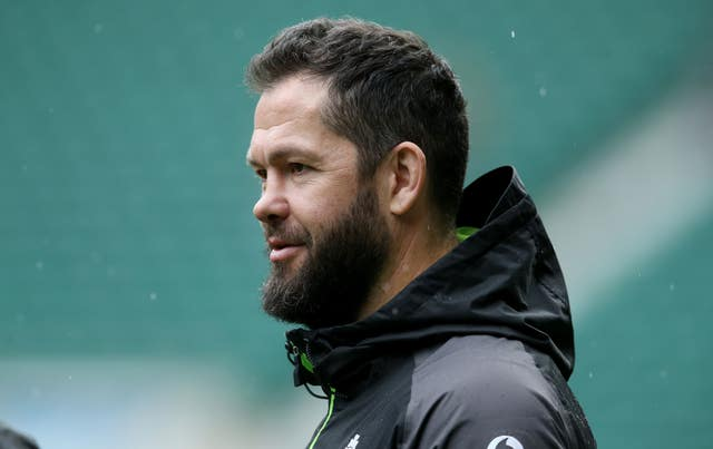 Andy Farrell has taken charge of Ireland training
