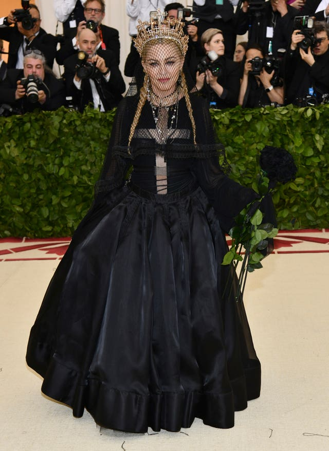 Madonna attends The Metropolitan Museum of Art's Costume Institute benefit gala. (Charles Sykes/Invision/AP)