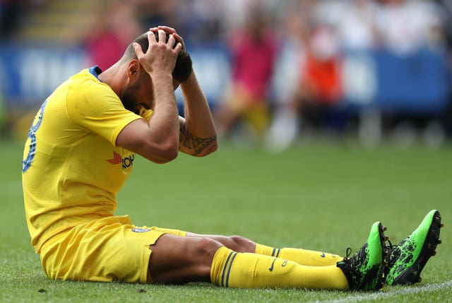 It's been a frustrating start to the Premier League season for Olivier Giroud