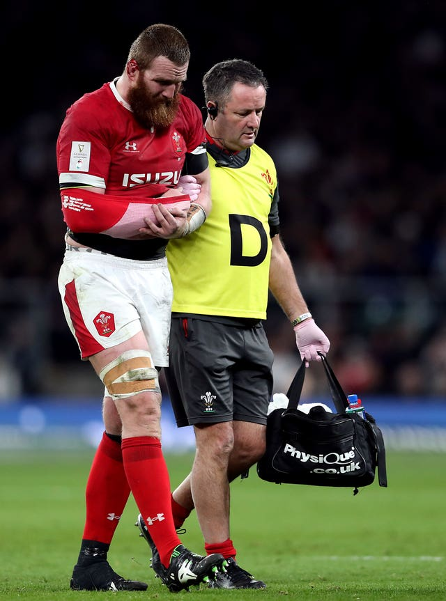 An injury to Jake Ball added to Wales' misery