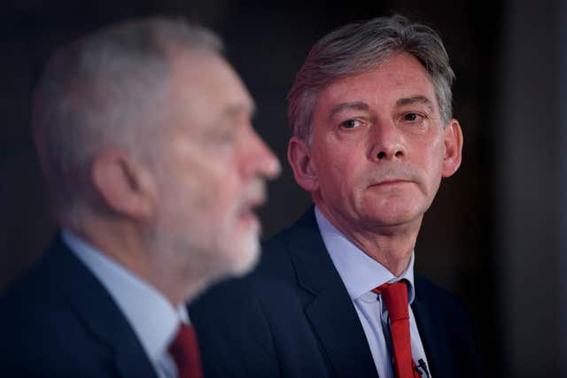 Jeremy Corbyn and Scottish Labour leader Richard Leonard will face pressure to back single market membership during the annual conference (John Linton/PA)