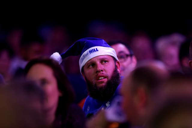 Andrew Johnston was at the Ally Pally