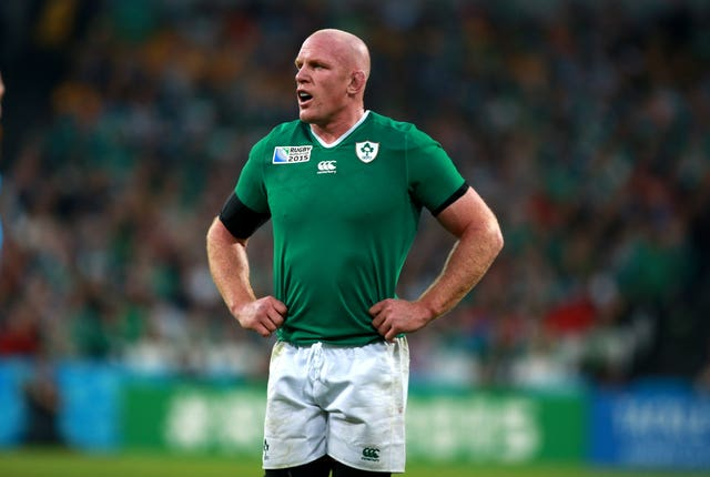 Paul O'Connell played 108 Tests for Ireland during a distinguished 13-year international career