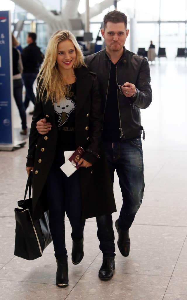 Michael Buble sighting – Heathrow