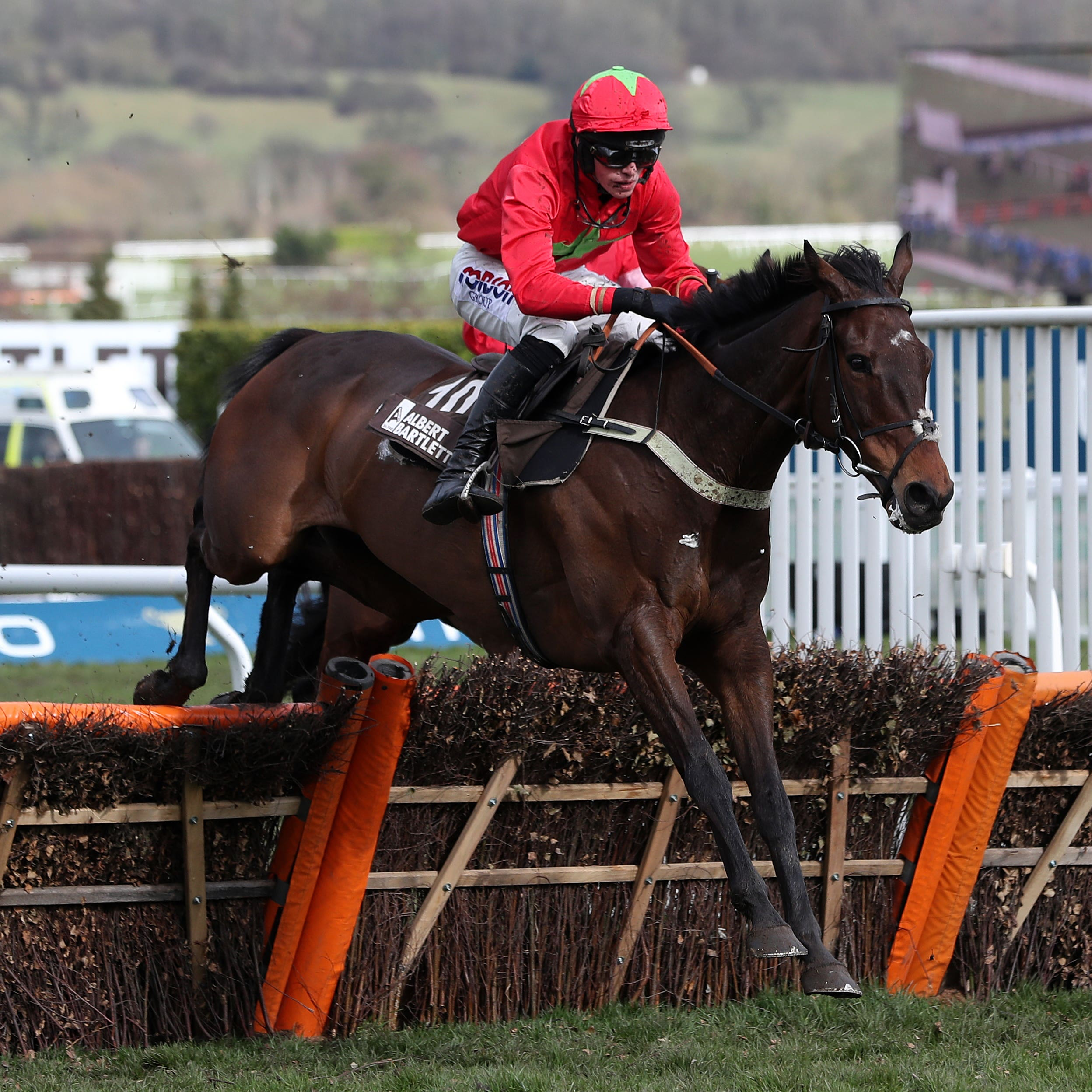 Kilbricken Storm, who will now be aimed at the Sun Racing Stayers' Hurdle at the Cheltenham Festival