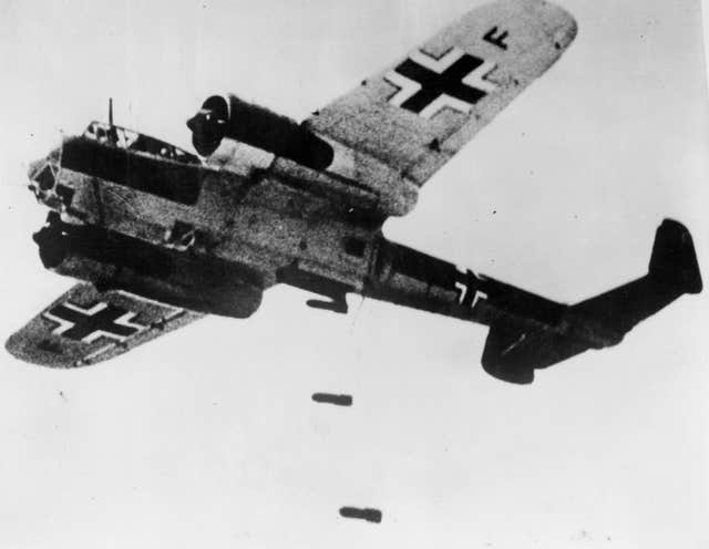 Dornier 17 used by the Luftwaffe