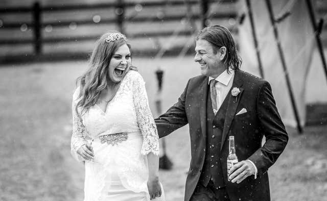 Sean Bean wedding