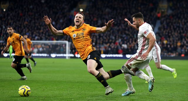 Wolves and Sheffield United drew 1-1