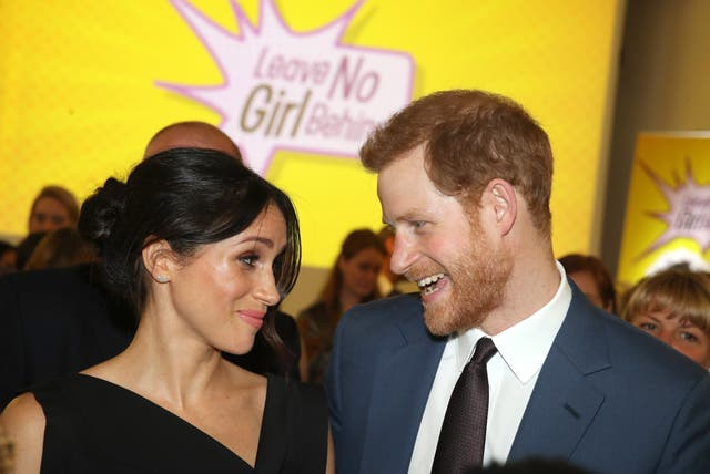 Prince Harry and Meghan Markle will wed this Saturday (Chris Jackson/PA)