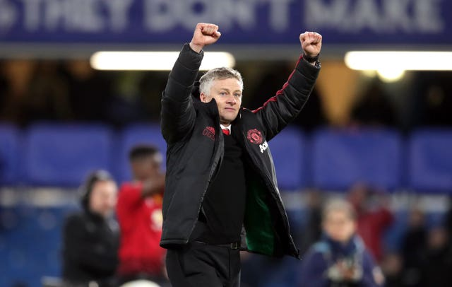 Ole Gunnar Solskjaer has won 11 of his 13 fixtures in interim charge of Manchester United (Adam Davy/PA)