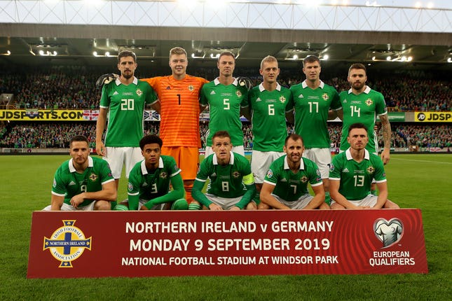 Northern Ireland v Germany