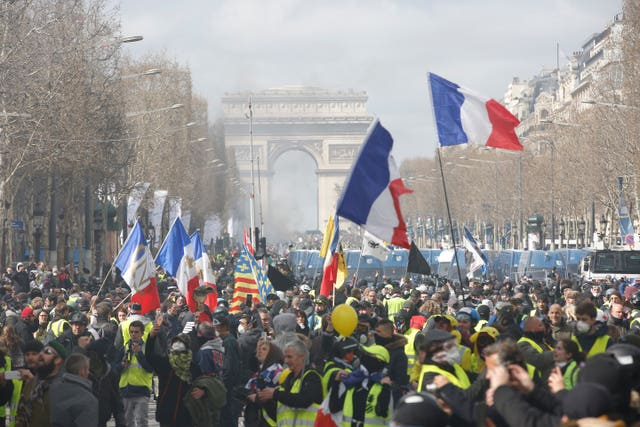 French protests