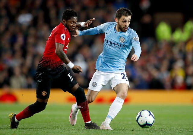 Bernardo Silva, pictured right, and Benjamin Mendy have been team-mates for over three years