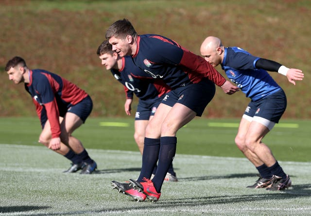 England Training Session – Pennyhill Park