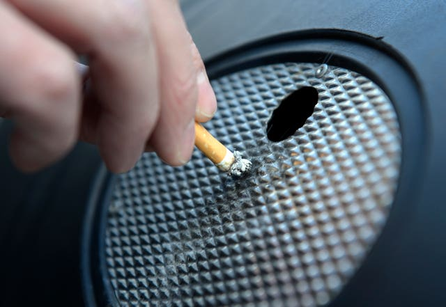 Around 15% of people in the UK smoke, the authors say (Jonathan Brady/ PA)