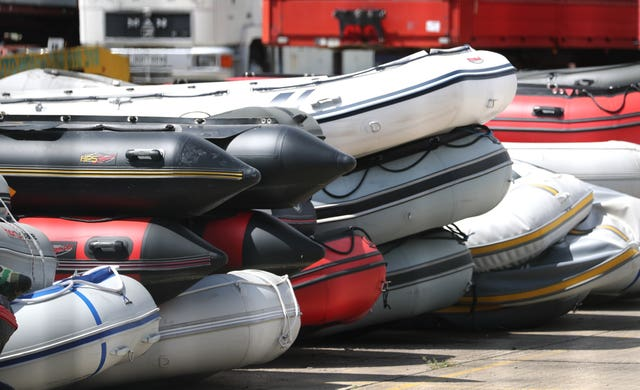 The boats were discovered at a secure compound in Dover