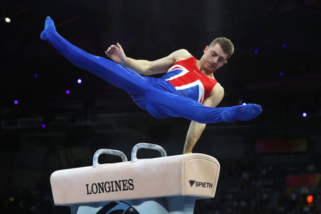 Max Whitlock won one of Great Britain's two gold medals at the Championships, while the Downie sisters also earned medals