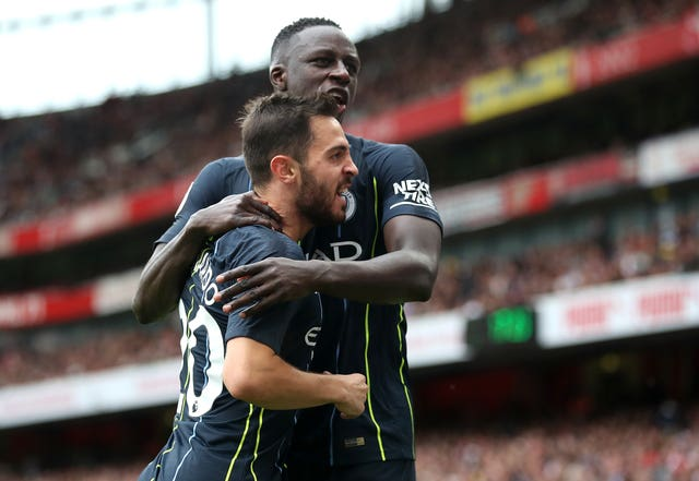 Bernardo Silva and Benjamin Mendy