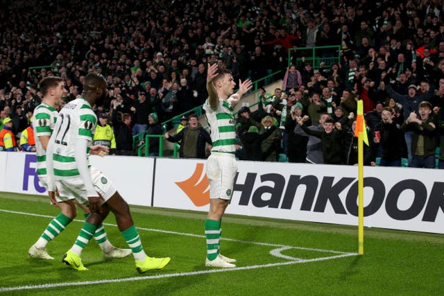 Kieran Tierney fired Celtic ahead