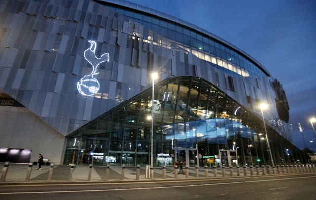Tottenham's game at home to Fulham was among those postponed