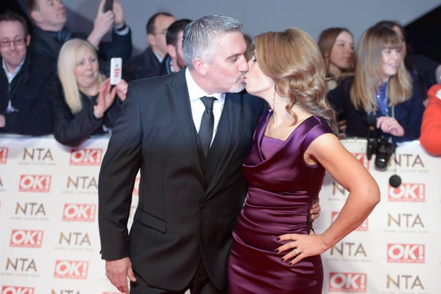 The couple at the 2015 National Television Awards