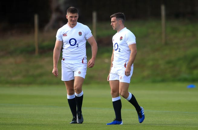 Owen Farrell and George Ford will line up alongside each other at Twickenham
