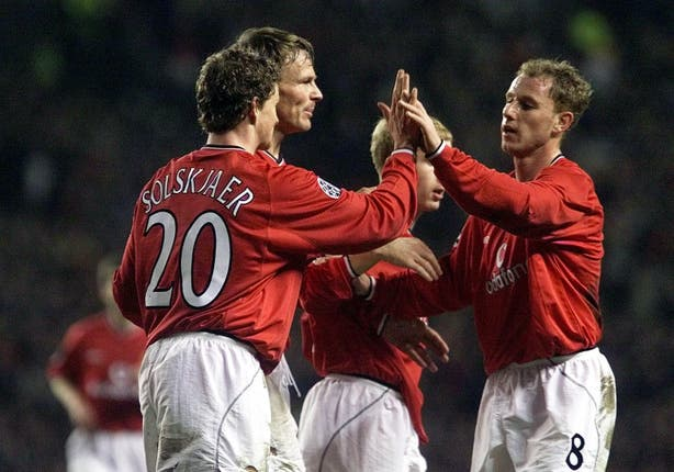 Ole Gunnar Solskjaer and Nicky Butt were Manchester United team-mates