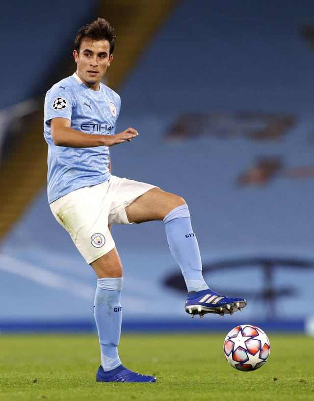 Pep Guardiola hopes Eric Garcia will change his mind about wanting to leave