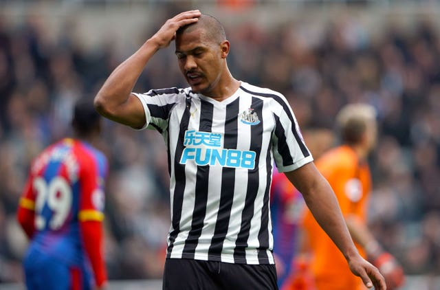 Salomon Rondon had chances to get on the scoresheet for Newcastle
